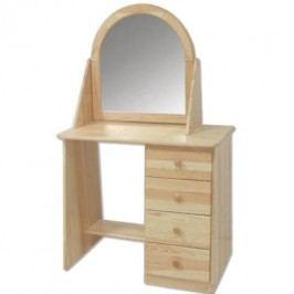 Toaletní stolek se zrcadlem LT108 borovice