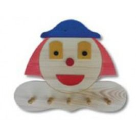 Dětský věšák klaun AD134