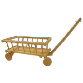 Dřevěný dětský vozík AD261