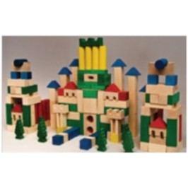 Dřevěná stavebnice AD407