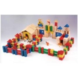 Dřevěná stavebnice AD409
