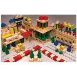 Dřevěná stavebnice AD410