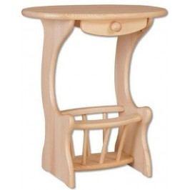 Odkládací stolek GD154 masiv borovice