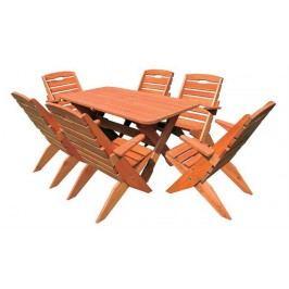 Zahradní židle MO109 ořech