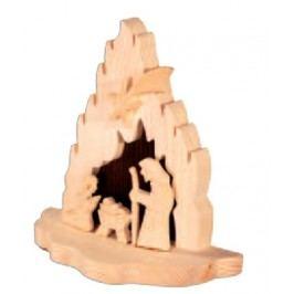 Dřevěný betlém GD502