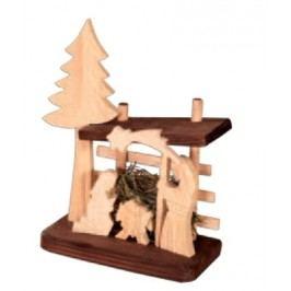 Dřevěný betlém GD504