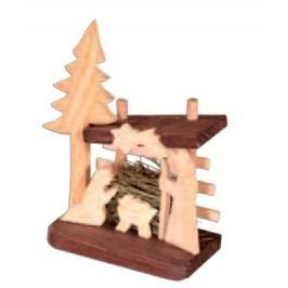 Dřevěný betlém GD506