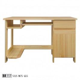 Psací stůl BR117 masiv borovice