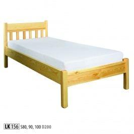 Dřevěná postel 80x200 LK156 borovice