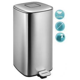 REGENT Odpadkový koš 32l, Soft Close, nerez mat (DR503)