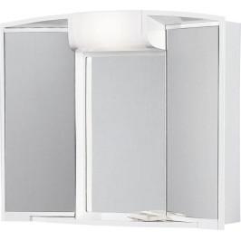ANGY galerka s osvětlením, 59x50x15cm bílá plast ( 541202 )
