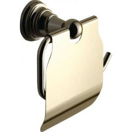 DIAMOND držák toaletního papíru s krytem, bronz ( 1318-17 )
