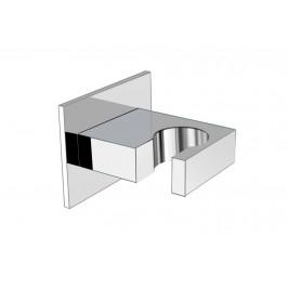 FIX pevný držák sprchy, hranatý, chrom ( AQ586 )