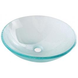 Skleněné umyvadlo 42cm ICE (2501-04)