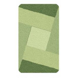 Koupelnová předložka INDIANA 60x100 cm, zelená (4064633360)