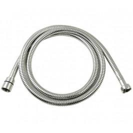 LUX kovová sprchová hadice, opletená, možnost natažení, 150-170cm, chrom ( FSACC293 )