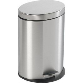 SIMPLE LINE odpadkový koš oválný 12l, broušená nerez ( 27212 )