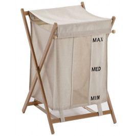 Koš na prádlo BUBO 43x64,5x46cm, bílý ( BU38 )