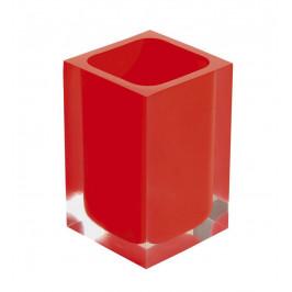 RAINBOW sklenka na postavení, červená ( RA9806 )