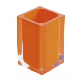 RAINBOW sklenka na postavení, oranžová ( RA9867 )