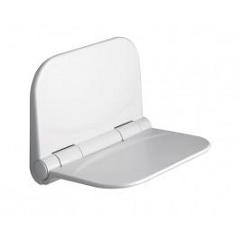 DINO sedátko do sprchy, 38x30cm, sklopné, bílá ( DI82 )