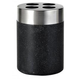 STONE držák kartáčků na postavení, černá ( 22010210 )