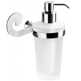 SISSI dávkovač mýdla, chrom/sklo satin ( 338113 )