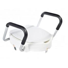 WC sedátko zvýšené 10cm, s madly, bílé ( A0072001 )