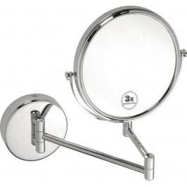 OMEGA závěsné kosmetické zrcátko bez osvětlení, průměr 200mm, chrom ( 112201512 )