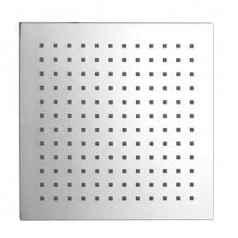 Hlavová sprcha čtverec 204 x 204 mm, ABS/chrom ( SK824 )
