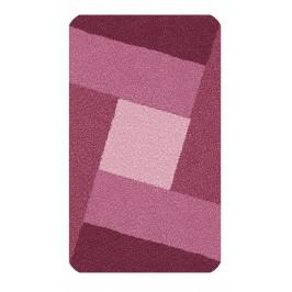 Koupelnová předložka INDIANA 60x100 cm, bordó červená (4064428360)