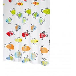 MALAWI sprchový závěs 180x200cm, polyester ( 47910 )