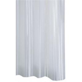 SATIN sprchový závěs 180x200cm, polyester, bílá ( 47851 )