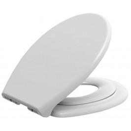 WC sedátko s integrovaným dětským sedátkem, soft close. polypropylen ( FS125 )