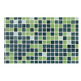 FADING OUTS GREEN Glass mosaic 2,5x2,5 section 7 (bal=2m2) ( GREEN-7 )