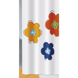 FLORALIS sprchový závěs 180x200cm, polyester kytky (2372148305)