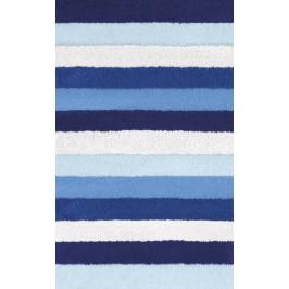 Koupelnová předložka BILBAO 60x100 cm, modrá (5407710360)