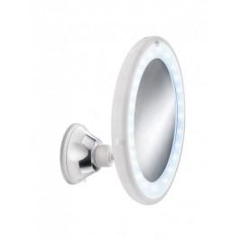 Kosmetické zrcátko FLEXY LIGHT s LED osvětlením, bílé (5819114886)