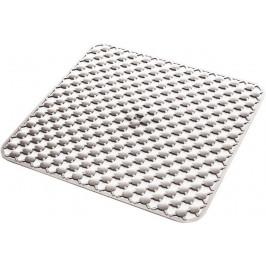 GEO podložka do sprchového koutu 53x53cm s protiskluzem, kaučuk, bílá ( 97535302 )