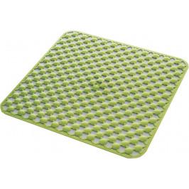 GEO podložka do sprchového koutu 53x53cm s protiskluzem, kaučuk, zelená ( 97535304 )