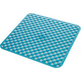 GEO podložka do sprchového koutu 53x53cm s protiskluzem, kaučuk, modrá ( 97535311 )