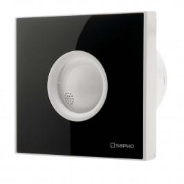 LITE koupelnový ventilátor axiální, 15W, potrubí 100mm, černá ( LT103 )