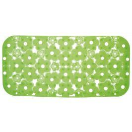 MARGHERITA podložka do vany 34,5x72cm s protiskluzem, PVC, zelená ( 973572P8 )