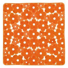 MARGHERITA podložka do sprchového koutu 51,5x51,5cm s protiskluzem, PVC,oranžová ( 975151P4 )