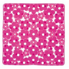 MARGHERITA podložka do sprchového koutu 51,5x51,5cm s protiskluzem, PVC, růžová ( 975151P0 )