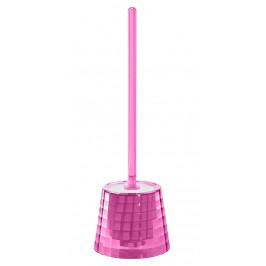 GLADY WC štětka na postavení, růžová