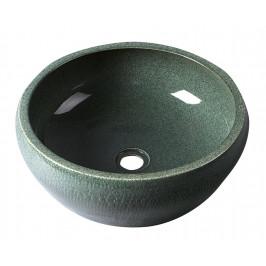 PRIORI keramické umyvadlo, průměr 42cm, mátová ( PI013 )