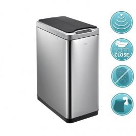 PHANTOM odpadkový koš senzorový 30l, Soft Close, broušená nerez (DR430)