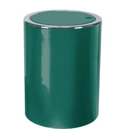 CLAP odpadkový koš výklopný 5 litrů, tmavě zelený (5829683858)