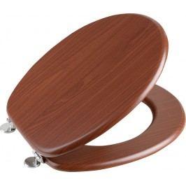 AQUALINE WC sedátko, MDF deska, ořech (1705-04)